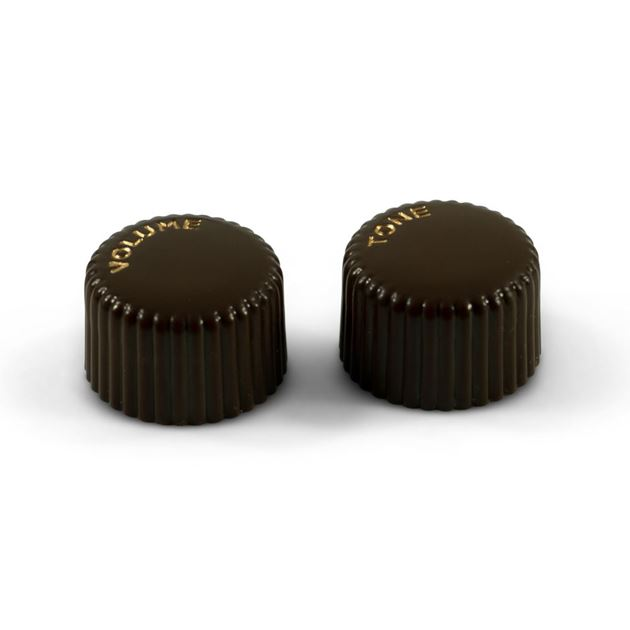 Picture of Vintage Cupcake Knob Set of 2 - Brown